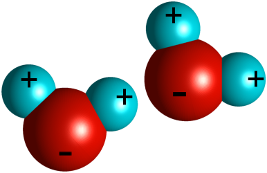 two H20 molecules
